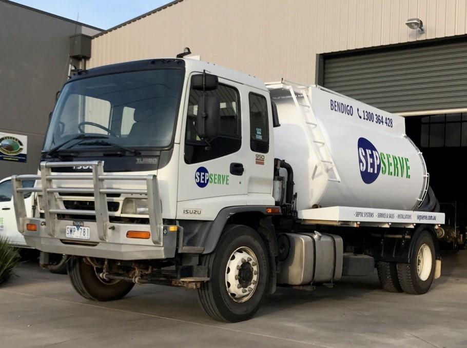 Sepserve – Waste Water Management Services Bendigo